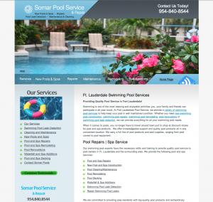 Ft. Lauderdale Pool Service